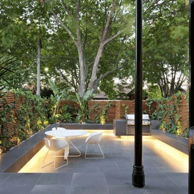 terrasse amenagee zen