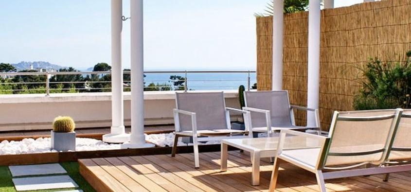 Terrasse balcon design