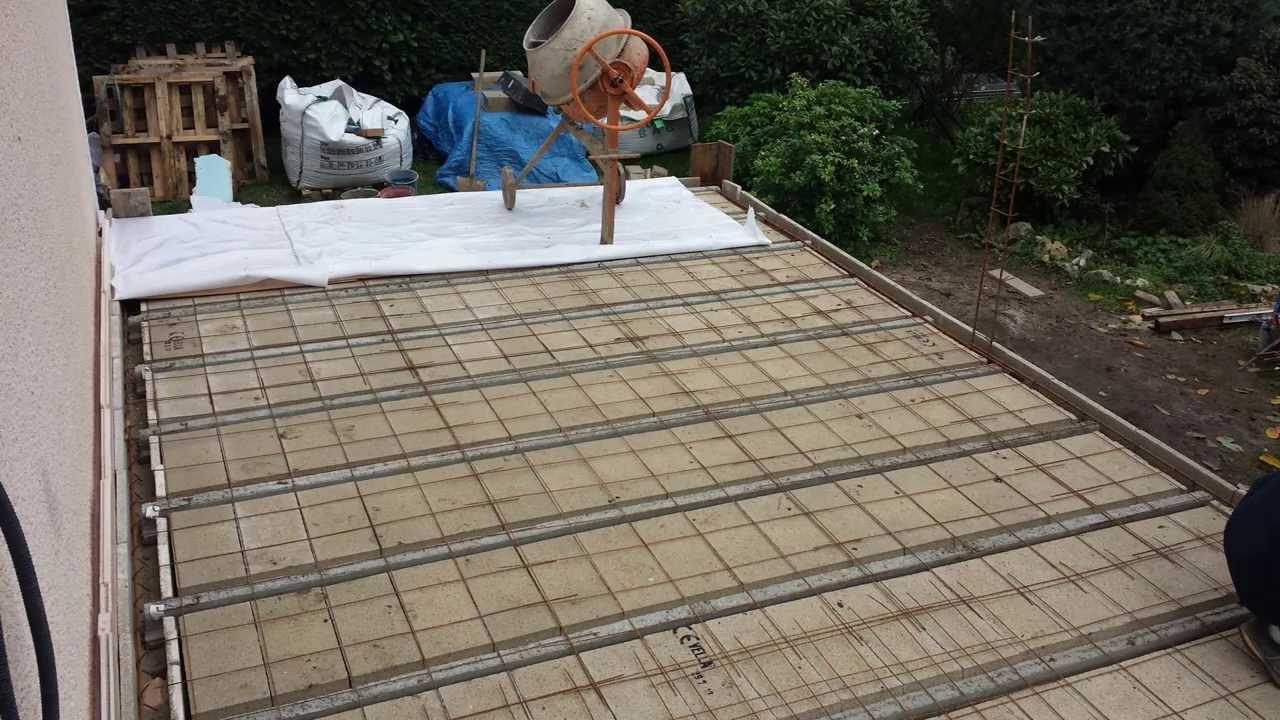 Terrasse beton arme