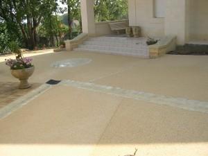 terrasse beton lave prix