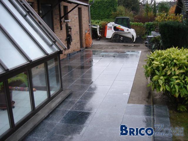 Terrasse beton lisse prix