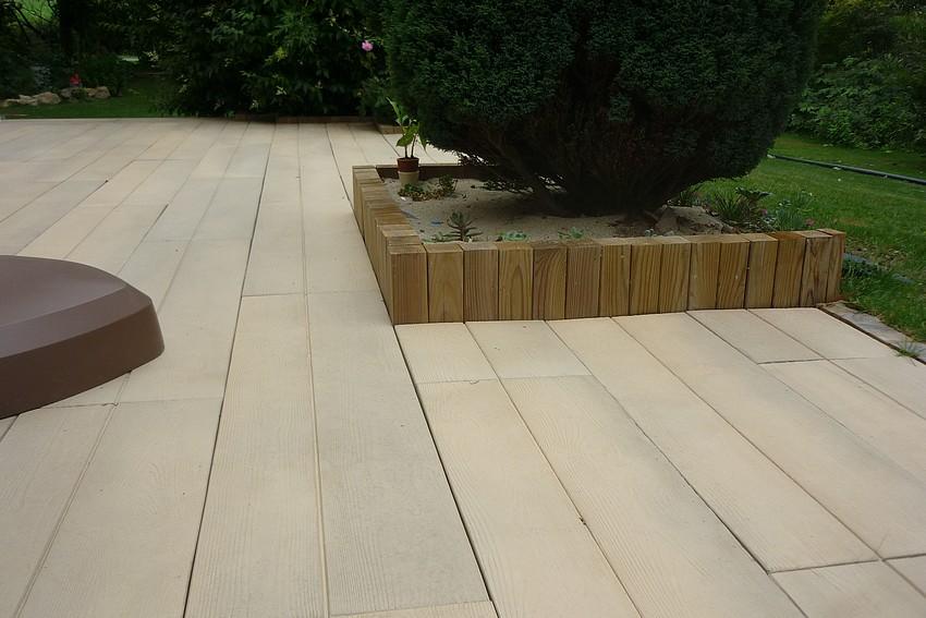 Terrasse beton morbihan