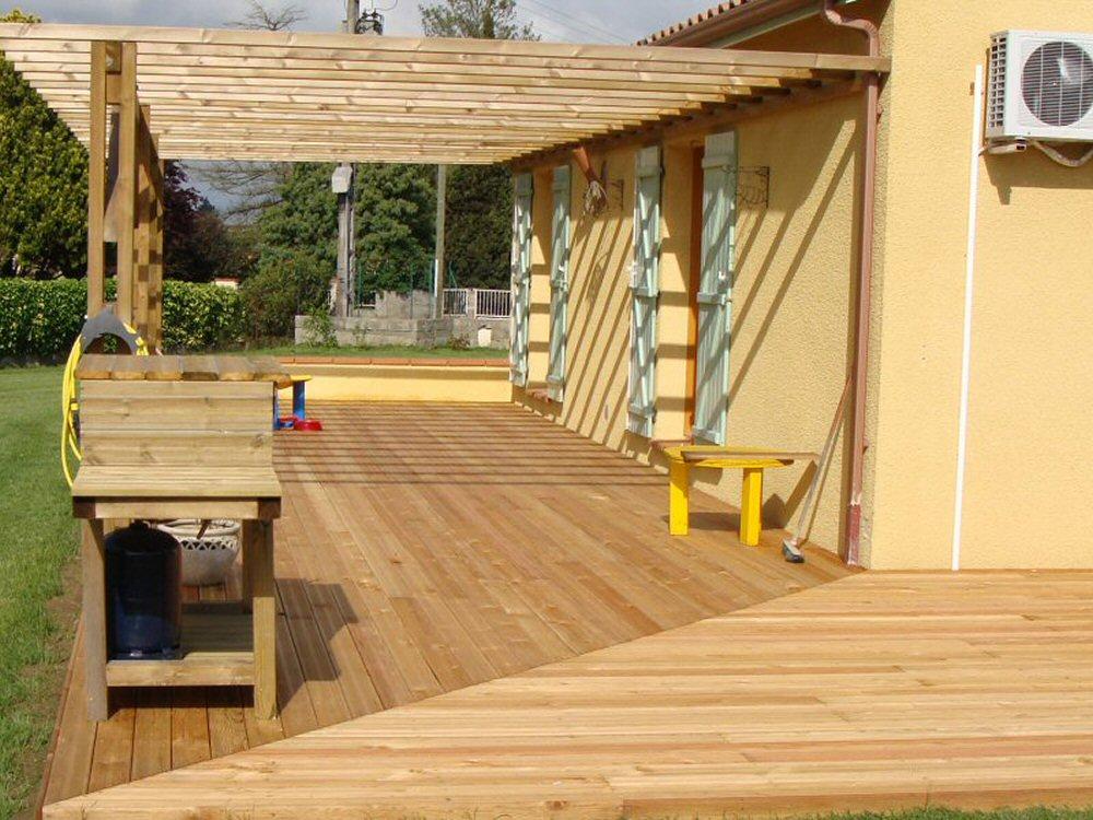 terrasse bois 31