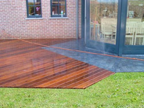 terrasse bois brabant wallon
