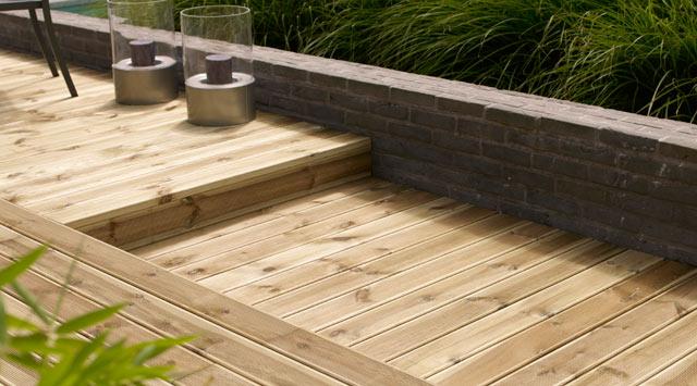Terrasse bois castorama