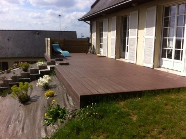 terrasse bois composite cout