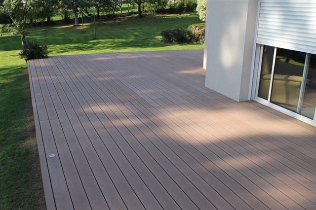 terrasse bois composite france