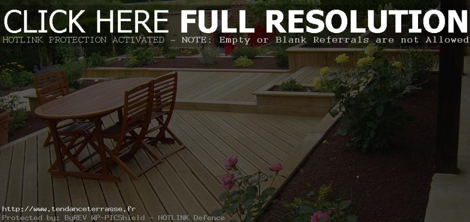 Terrasse bois composite japonais