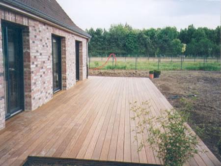 terrasse bois composite nord