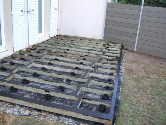 terrasse bois composite pas cher
