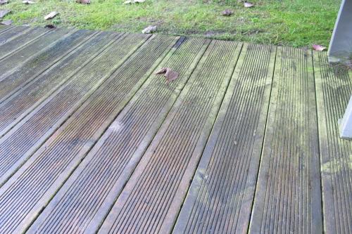Terrasse bois composite vieillissement