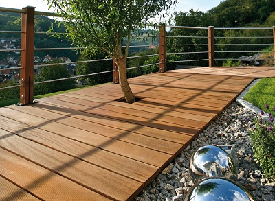 terrasse bois cout