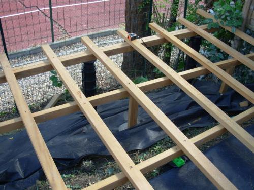 terrasse bois elevee