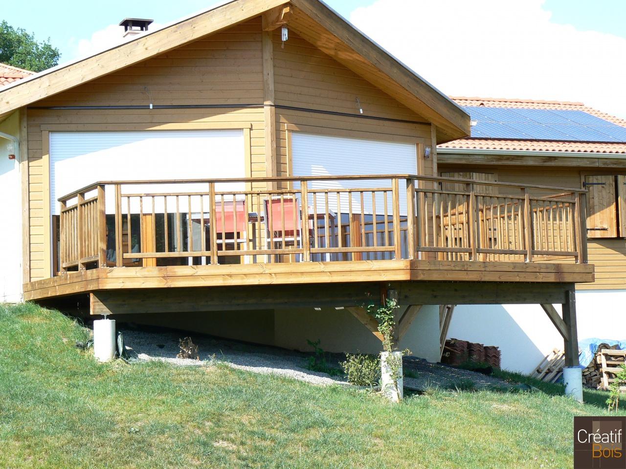 terrasse bois haute vienne