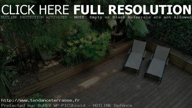 Terrasse bois japonais