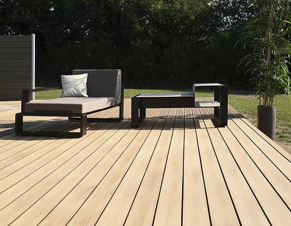 Terrasse bois lisse