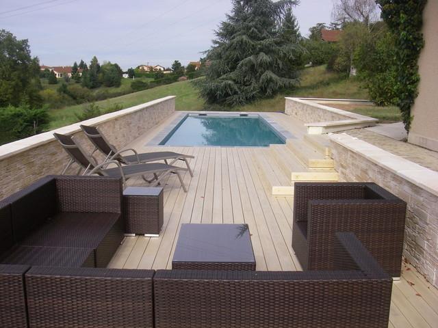 Terrasse bois loire 42