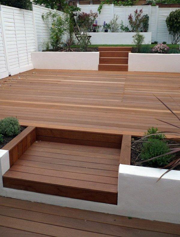 terrasse bois moderne