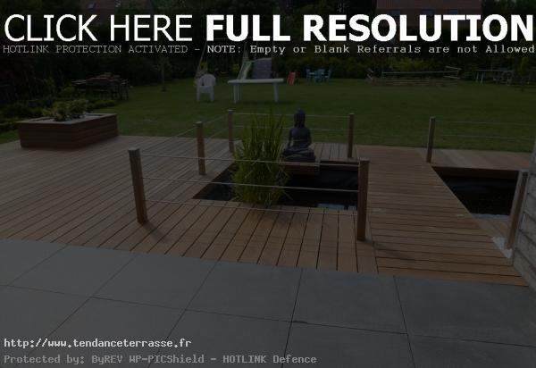 Terrasse bois ou pierre