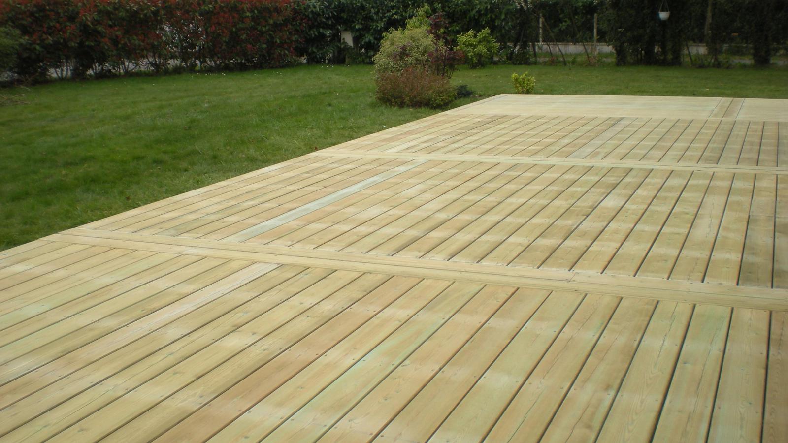 terrasse bois pin