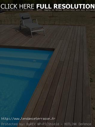 terrasse bois piscine ipe