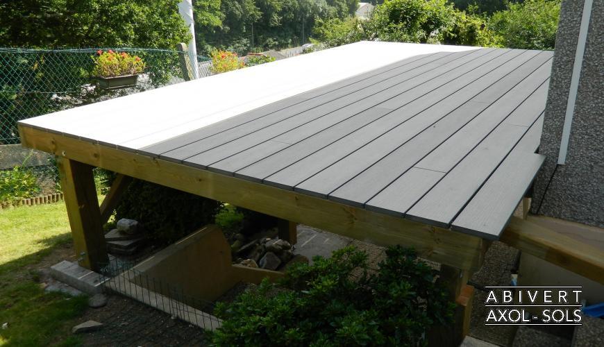 terrasse bois sur pilotis finistere