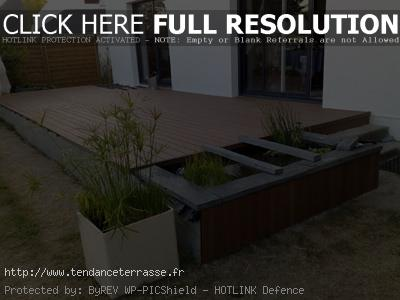 terrasse composite bambou