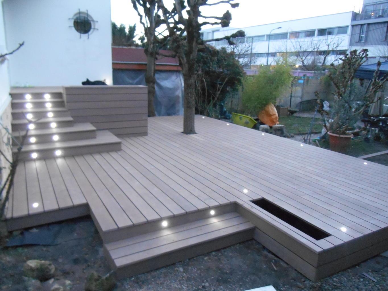 terrasse composite bordeaux