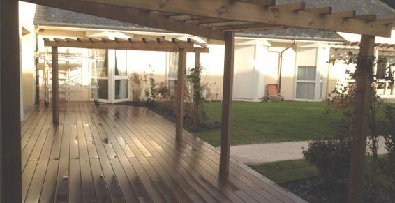 terrasse composite bricomarche