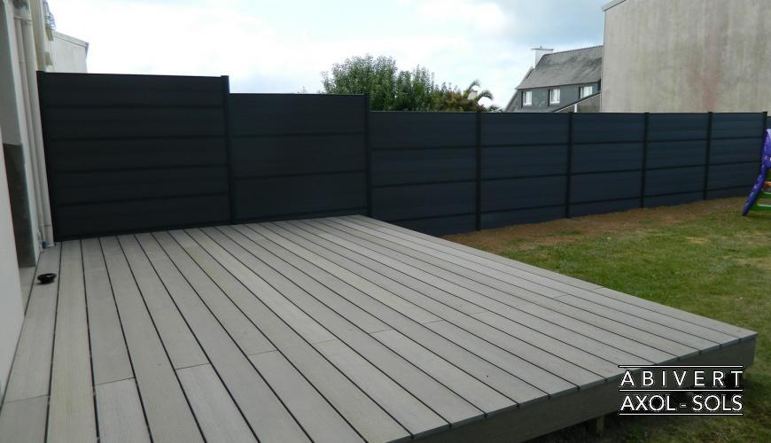 Terrasse composite finistere