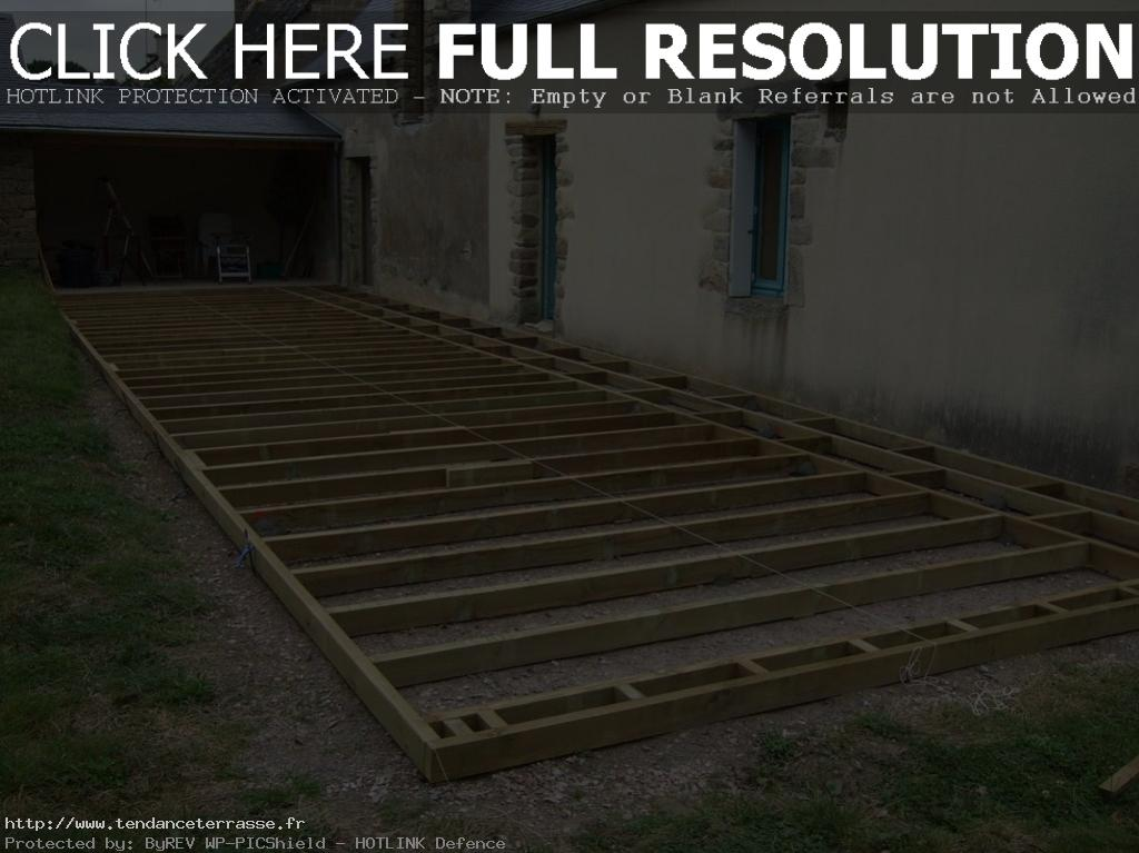 Terrasse composite forum construire