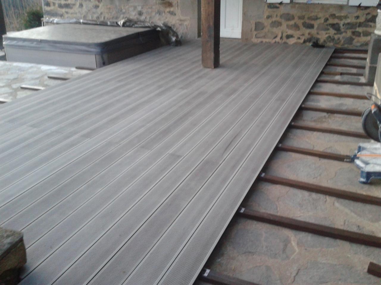 terrasse composite hiver