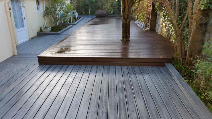 Terrasse composite trex