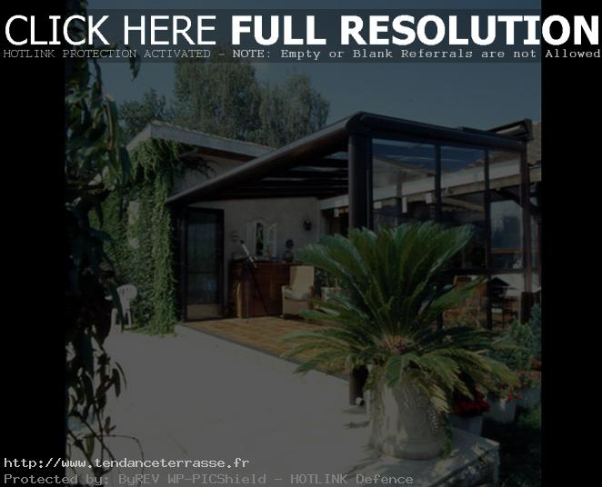 terrasse couverte alu