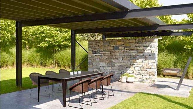 terrasse couverte amovible