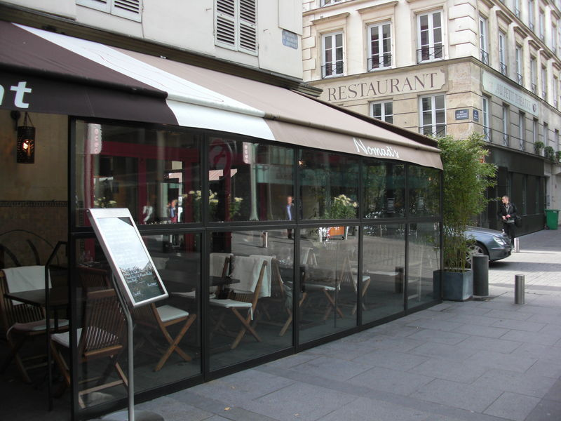 terrasse couverte cafe