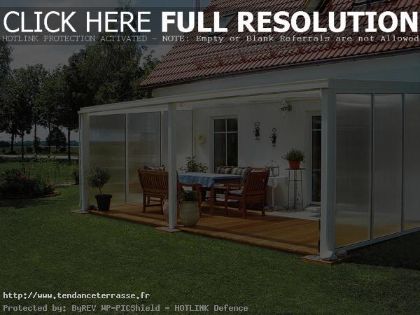 terrasse couverte en alu