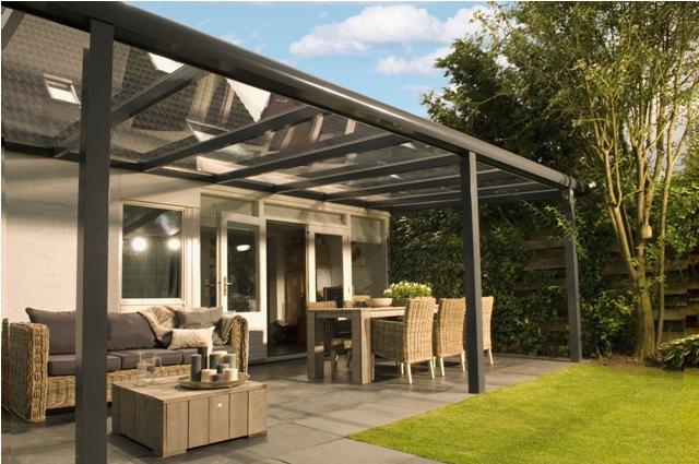 terrasse couverte en verre