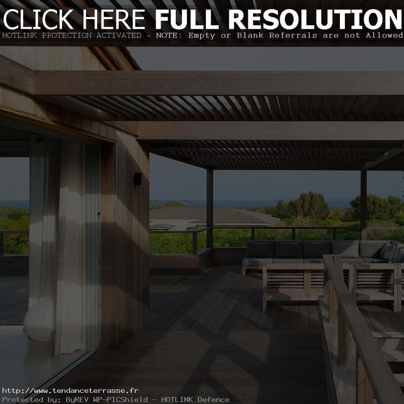 terrasse couverte modele