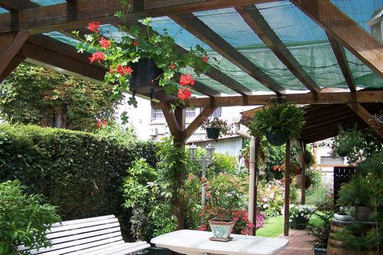 terrasse couverte originale