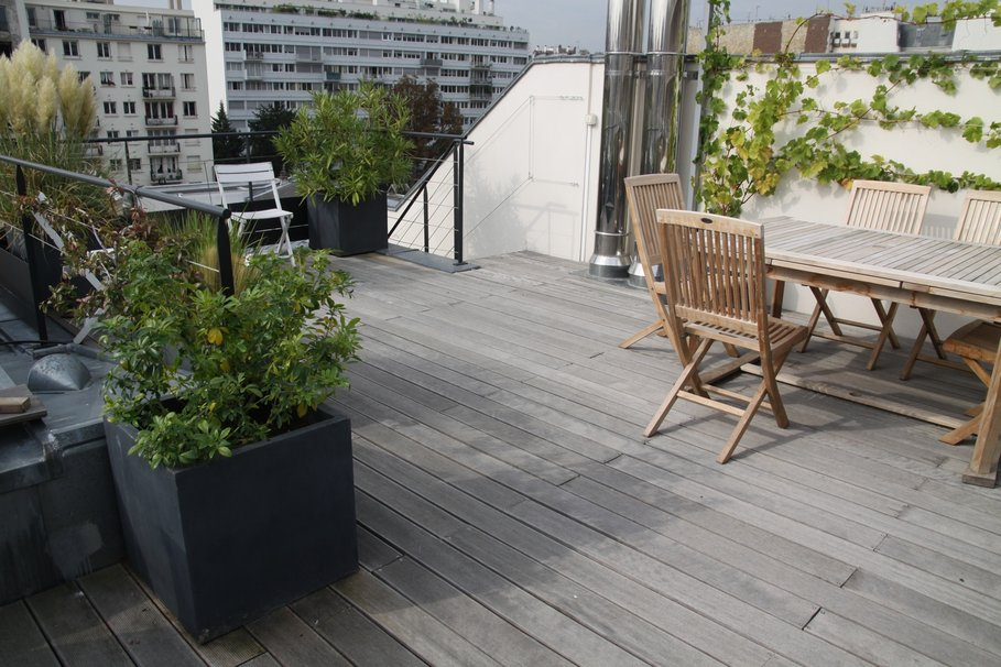 Terrasse design paris