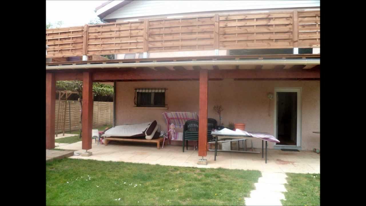 terrasse en beton surelevee