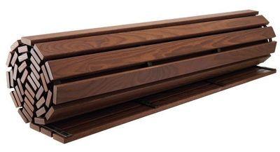 terrasse en bois a derouler castorama