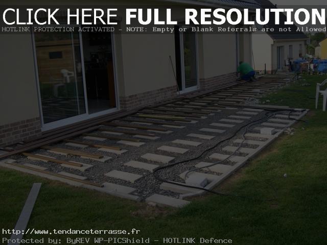 Terrasse en composite forum