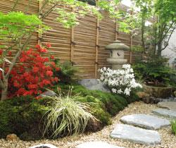 Terrasse esprit japonais
