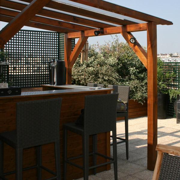 terrasse exterieure bar