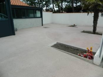 terrasse exterieure beton