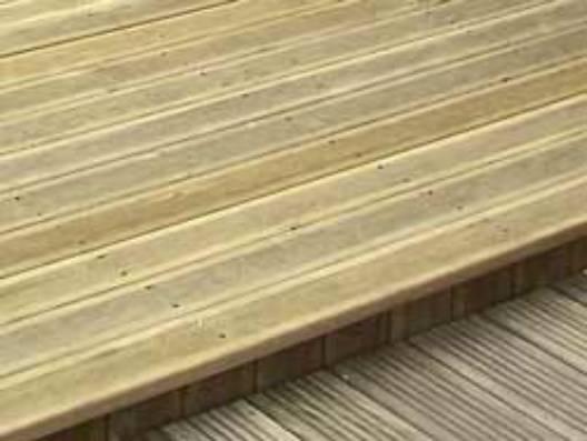 terrasse exterieure pin