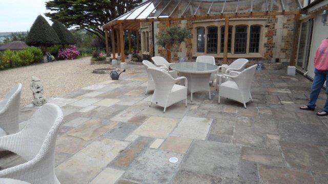 terrasse exterieure sol