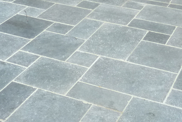 Terrasse imitation pierre